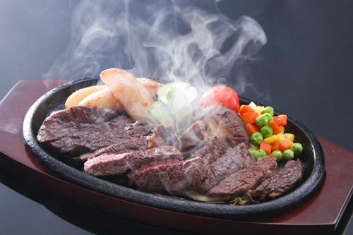 岡山黒和牛ステーキ小